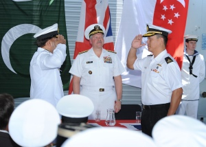 Republic of Singapore assumes Command of CTF 151