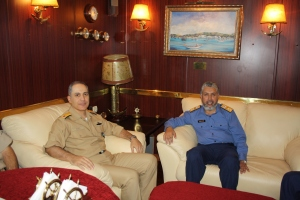 CTF-508's new Commander meets with CTF151 Commander