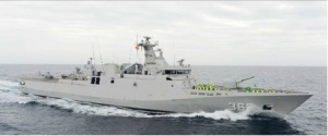 KRI Diponegoro from HMS Northumberland