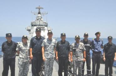 CTF 151 and Chinese Navy cooperate in counter-piracy