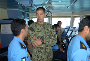 Maritime forces come together in the arabian gulf to practice search lt dennelly of the us coast guard and members of the kuwait naval force and kuwait publicscrutiny Gallery
