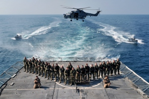 HMS Montrose Boarding Teams 2013-2014 on duty in the Gulf