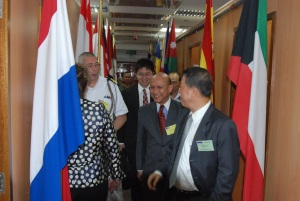 Ambassadors and Senior Representatives are given a tour of the CMF Headquarters building