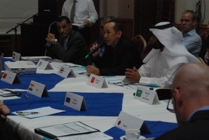 Delegates engaged in lively discussions aimed at sharing best practice with other counter-piracy forces