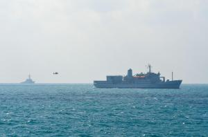 Ships and aircraft took part in a recent international Maritime Infrastructure Protection Exercise in the Gulf