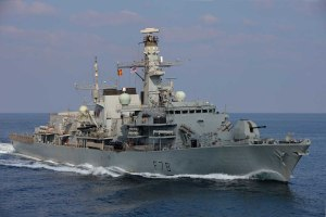 HMS Kent is currently providing direct support to CTF-150