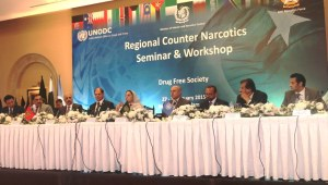 The UNODC Regional Counter Narcotics Seminar and Workshop aimed to enhance awareness and align efforts of regional countries in combating the challenges posed by narcotics trafficking in the Middle East