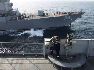 CTF150 FS Var complete RAS with USS Farragut