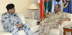 Commander CTF 151 Commodore Asif Hameed met with Field Marshal Sheikh Khalifa Bin Ahmed Al Khalifa, Commander in Chief of the Bahrain Defence Force