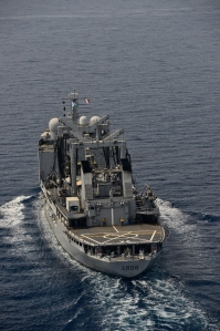 FS Var, CTF-150 French ship, patrolling inside the Indian Ocean