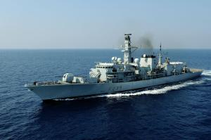 HMS Richmond on patrol with CTF150