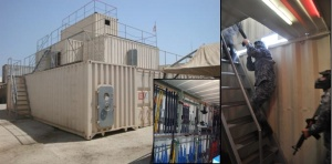 U.S. COAST GUARD MARITIME ENGAGEMENT TEAM – Caption showcases the Ship-in-a-Box facility, along with the array of AirSoft® Weapons and how they are used in a Close Quarter Combat scenario.