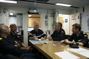 Talks between CTF 150 and EUNAVFOR Commanding Officers