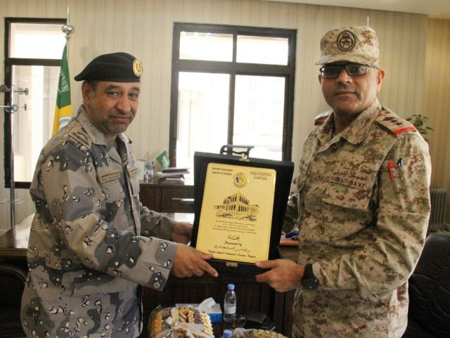 COL Alasker meets with deputy head of the KSA CG
