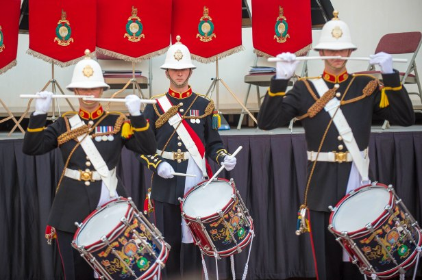 Marines Band Corps of Drums