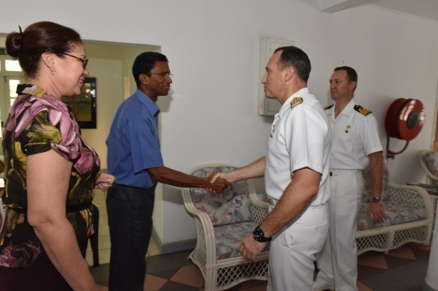 VISIT TO CHAIRMAN OF CGPCS