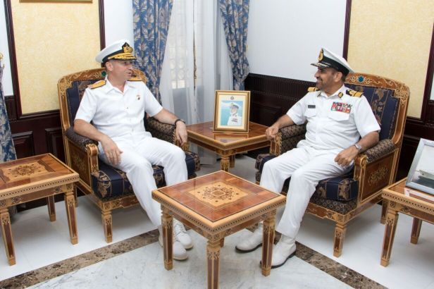 WITH NAVY COMMANDER