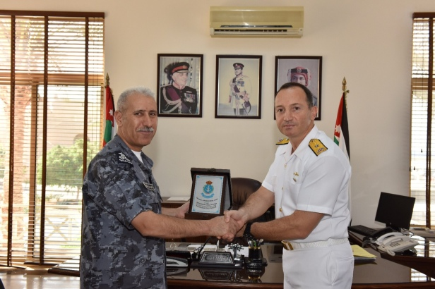 COMMANDER OF JORDANIAN NAVAL FORCES