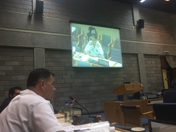 20180710-CCTF150 addresses a UN Office on Drugs and Crime (UNODC) meeting on the illegal smuggling of Somali charcoal