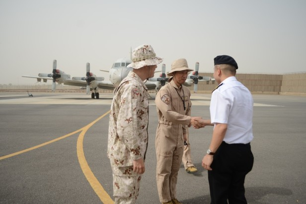 20180722-CCTF 151 greeted by CO DAPE and CO DGPE during KLE