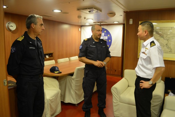 20180722-CCTF 151 hosted by RADM Malvagna onboard ITS Carlo Margottini during KLE