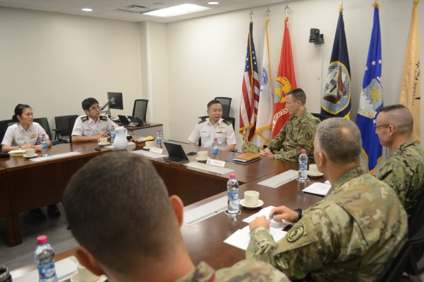 20180722-CCTF 151 meets with staff of the CJTF HOA during KLE