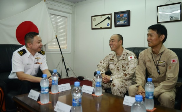 20180726-CCTF151 meets Col Iwakemi and Cdr Takahashi