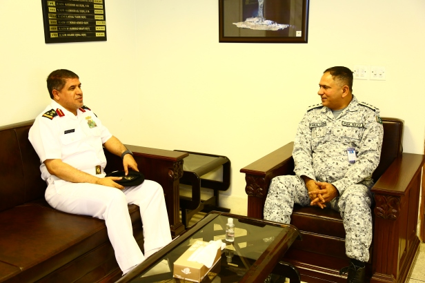 20181014-CCTF150 PAKISTAN DOPS RADM LODHI OFFICE