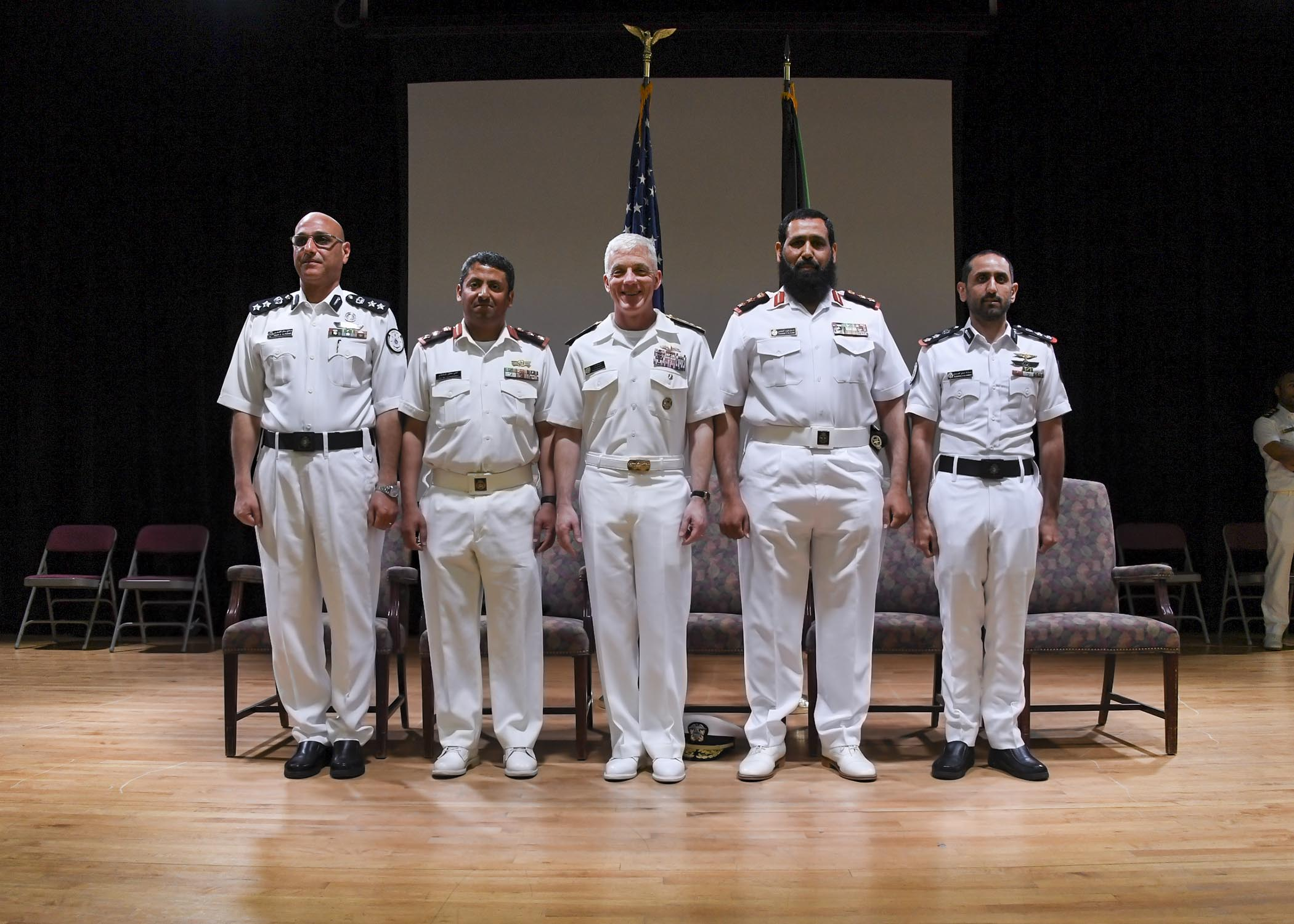 FIRST TIME CTF 151 AND CTF 152 CONDUCTED A CHANGE OF COMMAND
