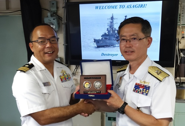 CCTF151 meets with the CO of JS Asagiri
