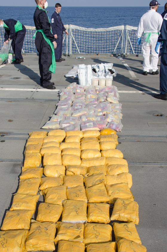 HMS MONTROSE PORT counter-narcotic boarding and seizure