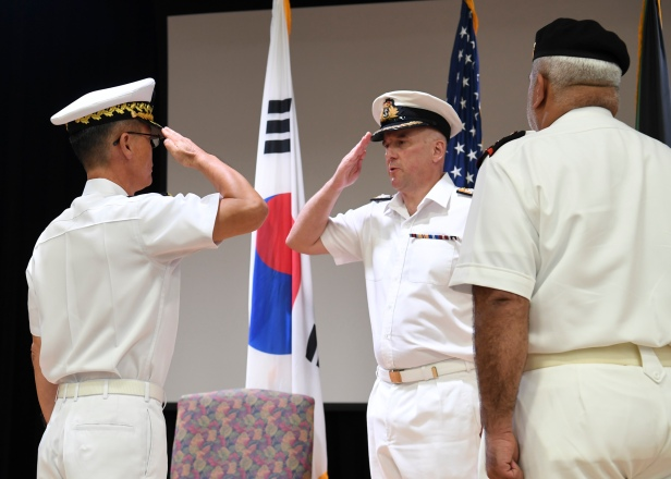 20191020_Rear Admiral Yu prepares to hand over command of CTF 151.