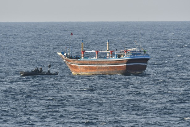 20191213_ DHOW WITH FS COURBET RHIB