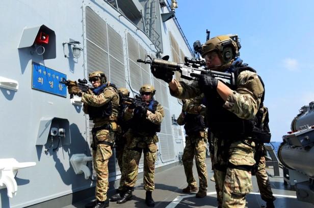 Marines Boarding